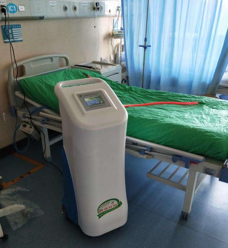 祝贺咸阳市中心医院安装安尔森牌床单位臭氧消毒机